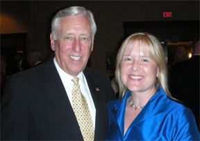 Rep. Steny Hoyer & Dr. Val